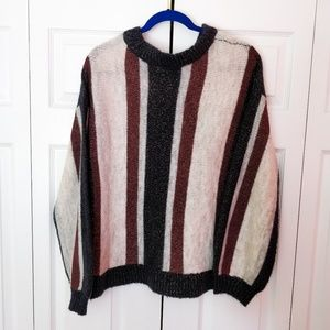 ASOS Vero Moda  Striped Knitted Sparkly Sweater